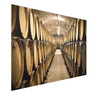 Quadro in forex - Wine cellar - Orizzontale 3:2