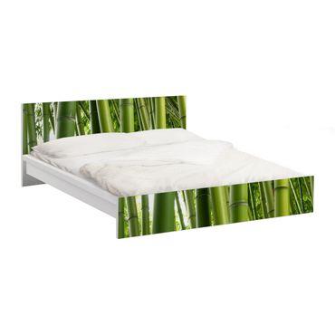 Carta adesiva per mobili IKEA - Malm Letto basso 180x200cm Bamboo Trees No.1