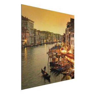 Quadro in alluminio - Grand Canal of Venice