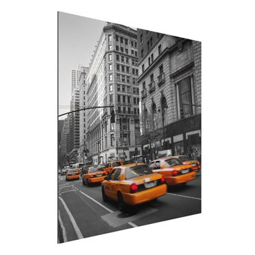 Quadro in alluminio - New York, New York!