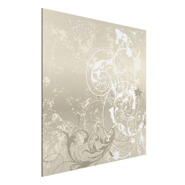 Quadro in alluminio - Nacre Ornament Design