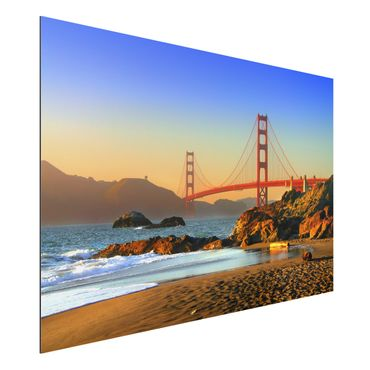 Quadro in alluminio - Baker Beach