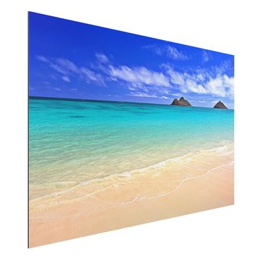 Quadro in alluminio - Paradise Beach