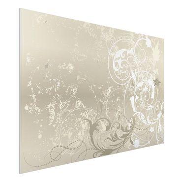 Quadro in alluminio - Nacre Ornament Design
