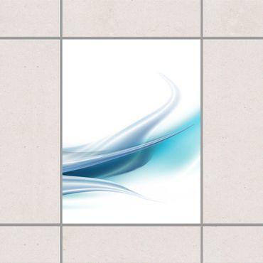 Adesivo per piastrelle - Blue Dust 20cm x 20cm