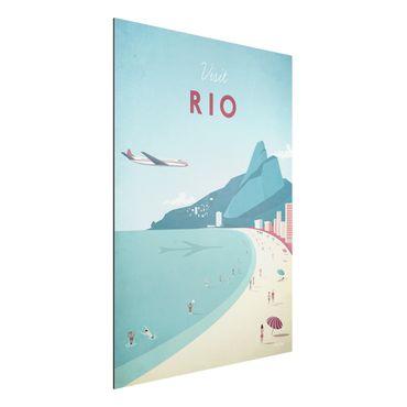 Stampa su alluminio - Poster Travel - Rio De Janeiro - Verticale 4:3