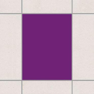 Adesivo per piastrelle - Colour Purple 20cm x 15cm