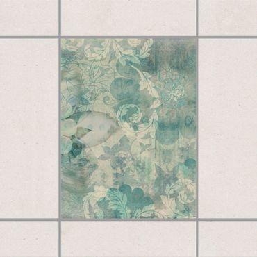 Adesivo per piastrelle - Frost Tracery 25cm x 20cm