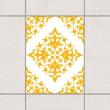 Adesivo per piastrelle - Tile Pattern White Light Grey 20cm x 20cm