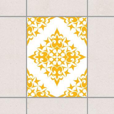 Adesivo per piastrelle - Tile Pattern White Light Grey 20cm x 20cm