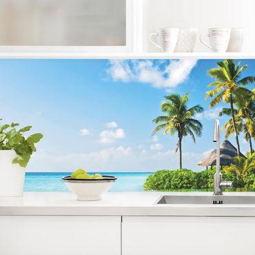 Rivestimento cucina - Paradiso Tropicale