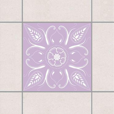 Adesivo per piastrelle - Bandana Lavender 15cm x 15cm