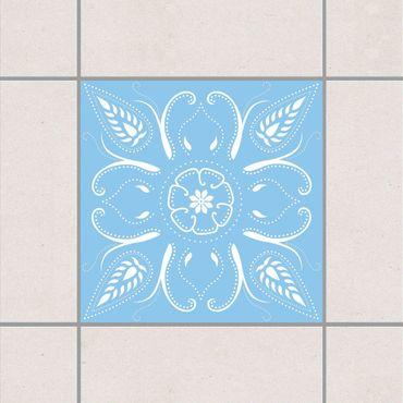 Adesivo per piastrelle - Bandana Light Blue 15cm x 15cm