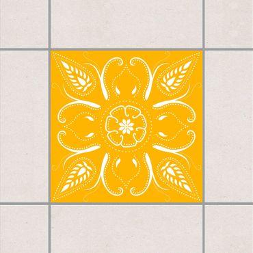 Adesivo per piastrelle - Bandana Melon Yellow 15cm x 15cm