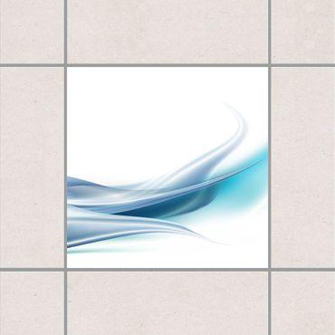 Adesivo per piastrelle - Blue Dust 25cm x 20cm