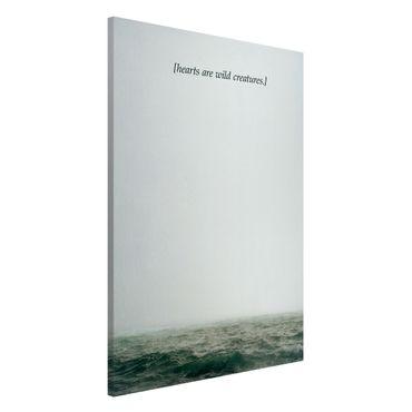 Lavagna magnetica - Paesaggi lirici - Cuori - Formato verticale 2:3