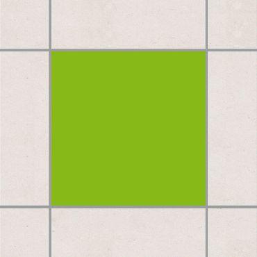 Adesivo per piastrelle - Yellow Green 25cm x 20cm