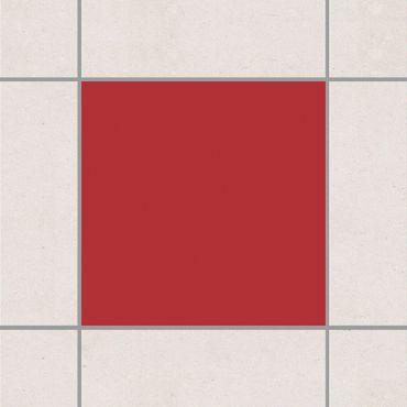 Fliesenaufkleber - Rot