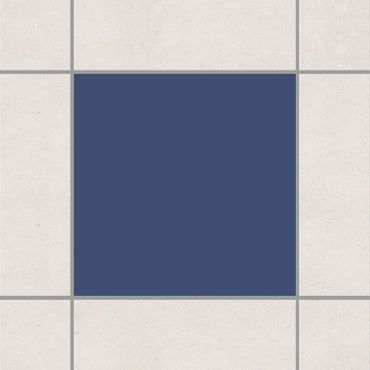 Adesivo per piastrelle - Colour Grey Blue 25cm x 20cm