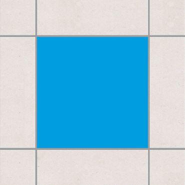 Adesivo per piastrelle - Colour Grey Cyan 10cm x 10cm