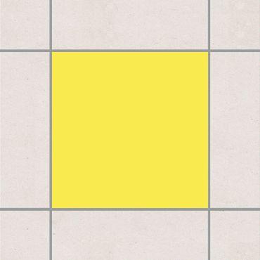 Adesivo per piastrelle - Colour Lemon Yellow 25cm x 20cm