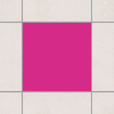 Adesivo per piastrelle - Pink 25cm x 20cm