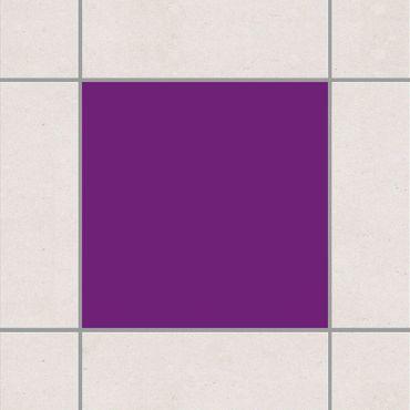 Adesivo per piastrelle - Colour Purple 25cm x 20cm