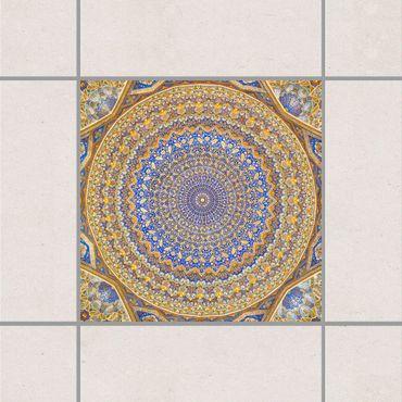 Adesivo per piastrelle - Dome of the Mosque 25cm x 20cm