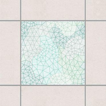 Adesivo per piastrelle - Fine cobweb 25cm x 20cm