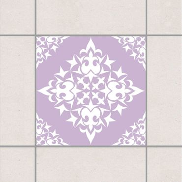 Adesivo per piastrelle - Tile Pattern Lavender 25cm x 20cm