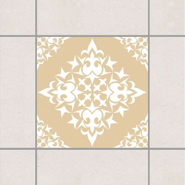 Adesivo per piastrelle - Tile Pattern Light Brown 25cm x 20cm