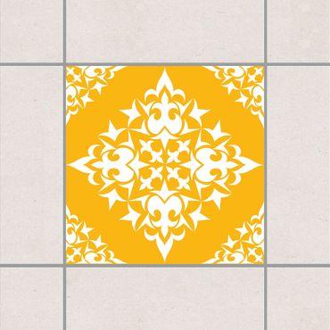 Adesivo per piastrelle - Tile Pattern Melon Yellow 25cm x 20cm