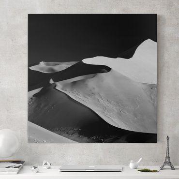 Stampa su tela - Deserto - Estratto Dunes - Quadrato 1:1