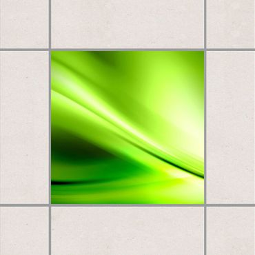 Adesivo per piastrelle - Green Valley 25cm x 20cm