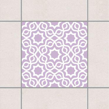 Adesivo per piastrelle - Islamic Lavender 15cm x 15cm
