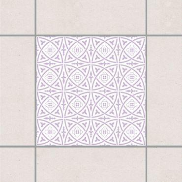 Adesivo per piastrelle - Celtic White Lavender 25cm x 20cm