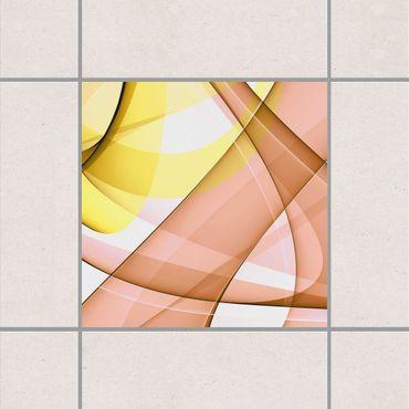 Adesivo per piastrelle - Lost in Thought 25cm x 20cm