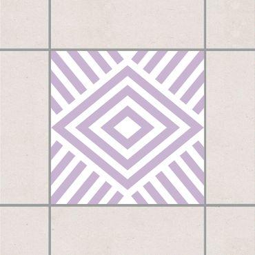 Adesivo per piastrelle - Marina Lavender 25cm x 20cm