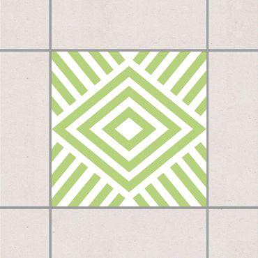 Adesivo per piastrelle - Marina Spring Green 25cm x 20cm