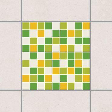 Adesivo per piastrelle - Mosaic Tiles Autumn Set 25cm x 20cm