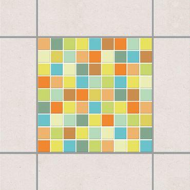 Adesivo per piastrelle - Mosaic Tiles Sunrise 25cm x 20cm