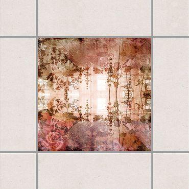 Adesivo per piastrelle - Old Grunge 25cm x 20cm