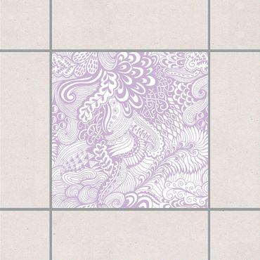 Adesivo per piastrelle - Poseidon's Garden Lavender 25cm x 20cm
