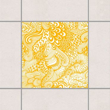 Adesivo per piastrelle - Poseidon's Garden Melon Yellow 25cm x 20cm