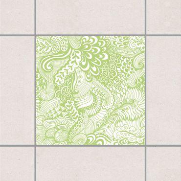 Adesivo per piastrelle - Poseidon's Garden Spring Green 25cm x 20cm