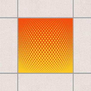Adesivo per piastrelle - Retro disco ball 25cm x 20cm