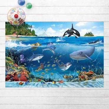 Tappeti in vinile - Animal Club International - Sott'acqua con gli animali - Orizzontale 3:2