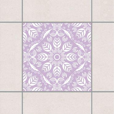 Adesivo per piastrelle - Rosamunde Lavender 10cm x 10cm