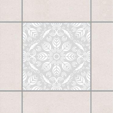 Fliesenaufkleber - Rosamunde Light Grey Grau