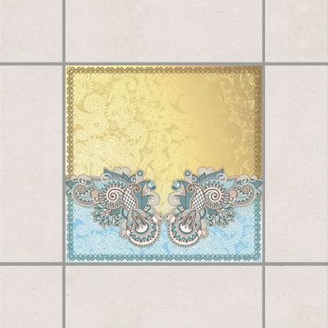 Adesivo per piastrelle - Stamp Pattern 15cm x 15cm